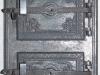 Drzwiczki do pieca ogrzewalnego żeliwne
