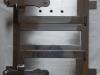 Drzwiczki nierdzewne kuchenne paleniskowe matowe